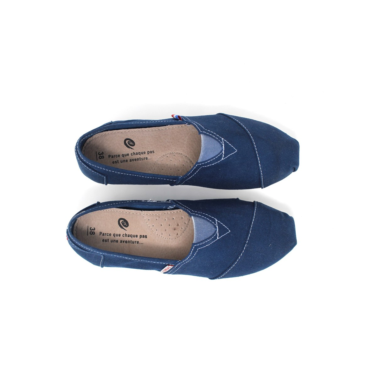 ESPADRILLE BLEU MARINE MADE IN FRANCE ESPIGAS