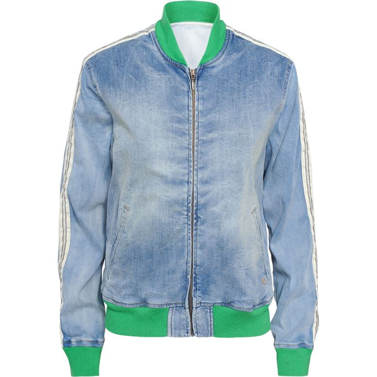BOMBER DENIM SUMMUM WOMAN