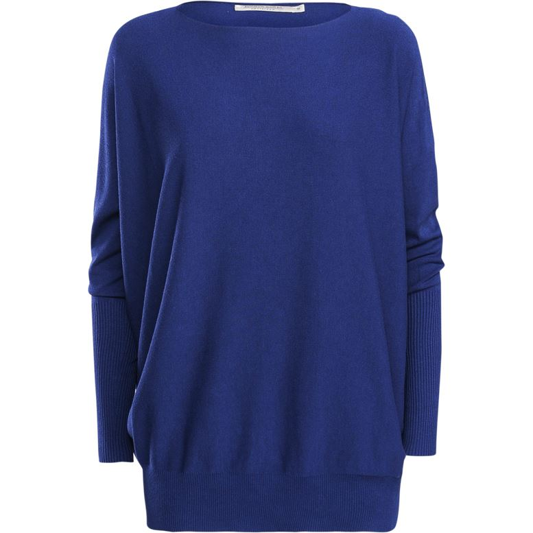PULL OVER SIZE BLEU MARINE SUMMUM WOMAN
