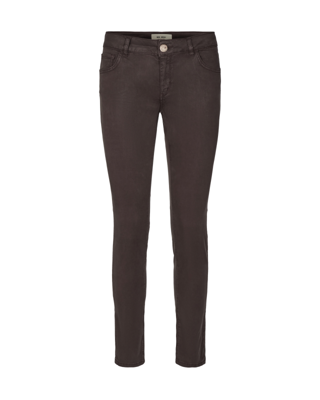 PANTALON COULEUR CHOCOLAT (MARRON) SLIM MOS MOSH