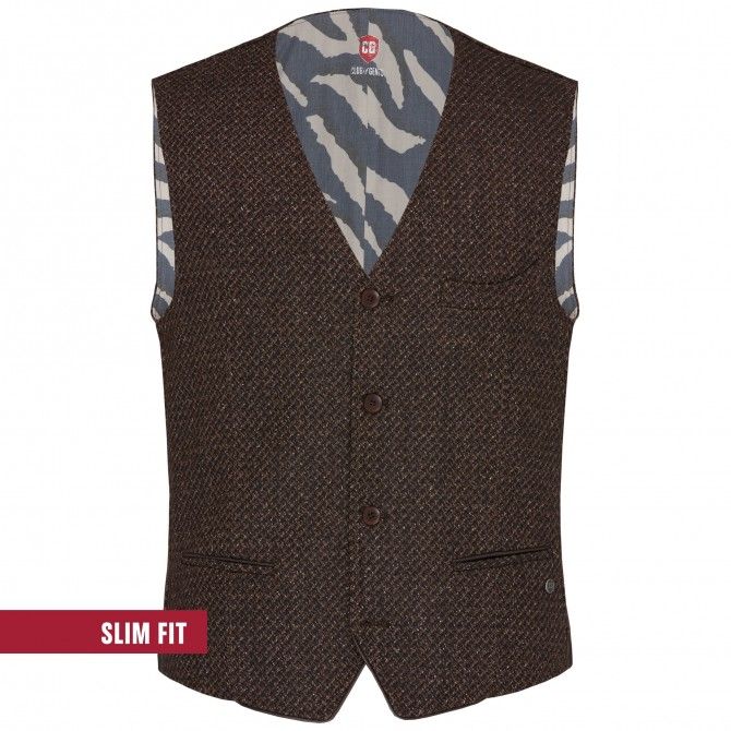 GILET MIKE MARRON CLUB OF GENTS