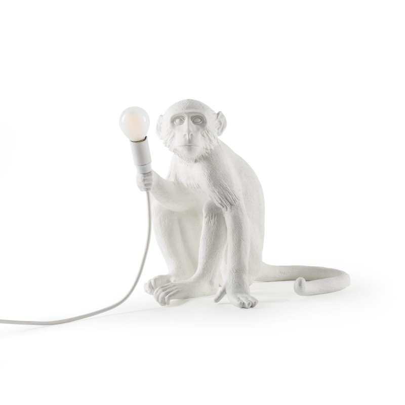 LAMPE SINGE  ASSIS BLANCHE SELETTI