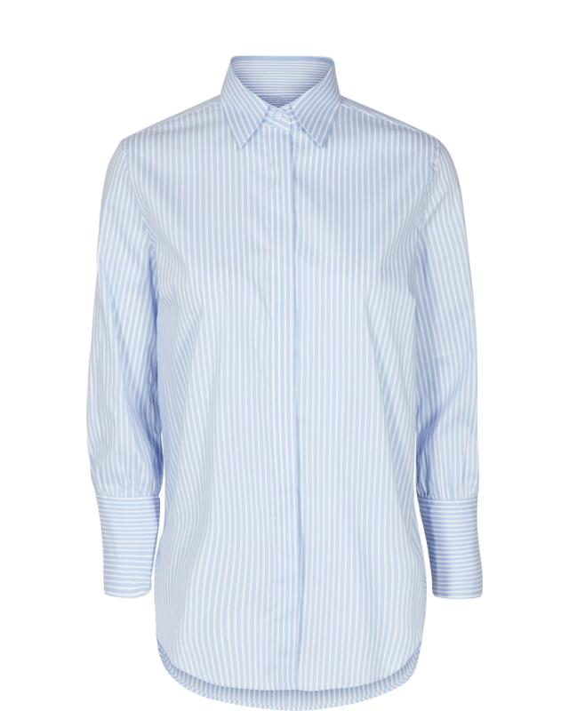 CHEMISE LARINA LIGHT BLUE MOS MOSH