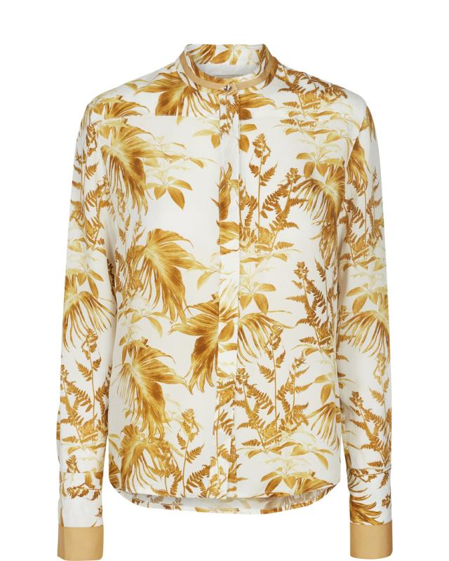 BLOUSE JUNE CANNES LEMON PRINT MOS MOSH